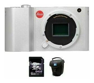 Leica T Mirrorless Cámara Digital - Plata + 64gb & Caso-995