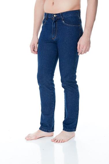 Jean Clásico Recto Azul Hombre Pantalón, Envío Gratis!
