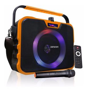 Parlante Panacom Sp-3070 Portatil Bluetooth Con Microfono