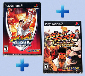 Street Fighter Anniversary Collection + Alpha Anthology
