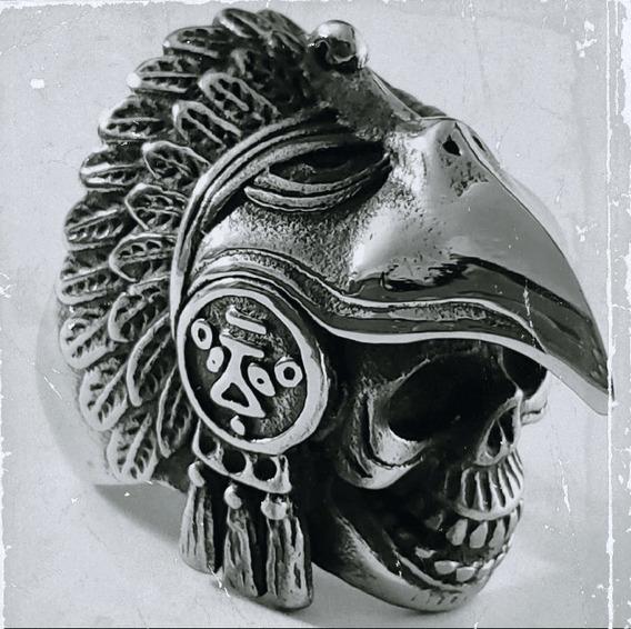 Garra turco otomano Negro Onyx 925 Sterling Silver Anillo para hombre