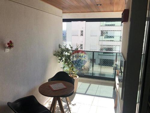 Imagem 1 de 27 de Apartamento Com 3 Dormitórios À Venda, 84 M² Por R$ 1.166.000 - Jardim Caravelas - São Paulo/sp - Ap0601