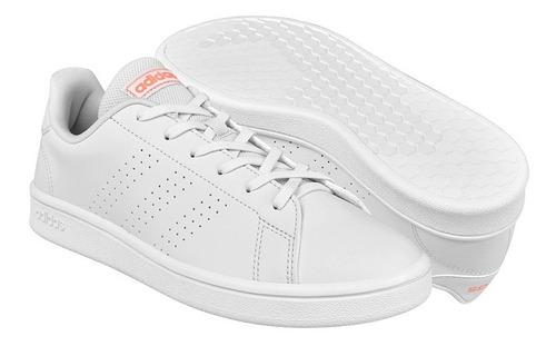Imagen 1 de 5 de Tenis Casuales Para Dama adidas Eg3959 Blanco