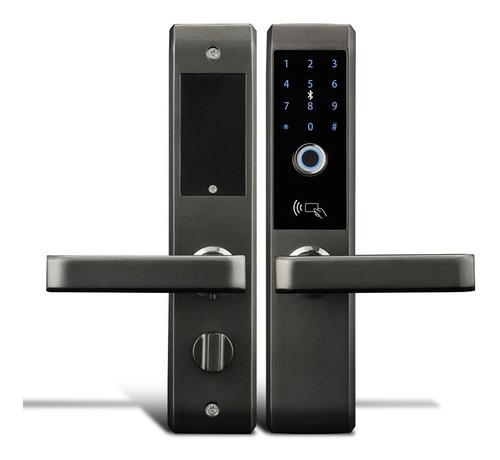 Cerradura Smart De Triple Traba. Huella+clave+tarjeta+llave