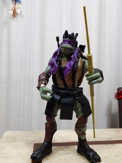 Boneco Tartaruga Ninja Donatello Gigante Filme Il - Usado