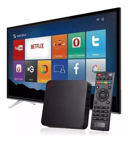 Aparelho Transforma Tv Em Smart 4k 3gb Ram 16gb