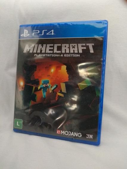 Minecraft Ps4 Mídia Física Lacrado Pronta Entrega