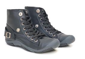 Zapatillas Mujer Cuero Comodas Invierno Ada Heyas