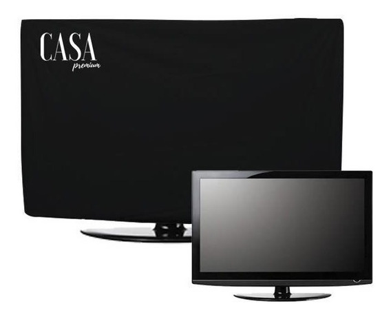 Capa Luxo Tv Led Lcd Plasma Corino Impermeável Até 55 Pol.