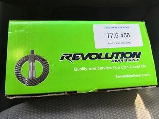 Piñon Y Corona 4.56 Toyota Revolution Gear