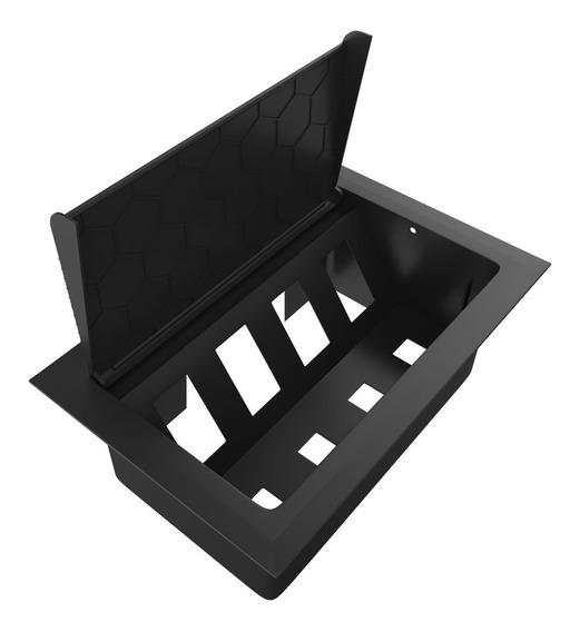 Caixa De Tomada Embutir Para Mesa, Hdmi, Rede - Caixa Vazia