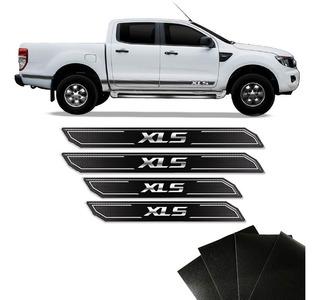 Kit Soleira Diamante Ranger Xls 13/19 Com Protetor De Porta