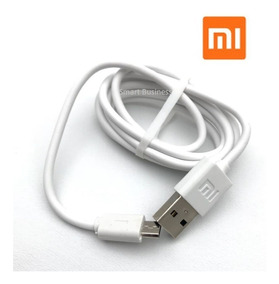 Lote Mayoreo 10 Cables Micro Usb Xiaomi Original 1.2m Blanco