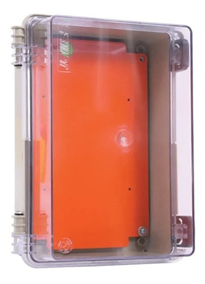 Caixa Plastica Transparente Para Quadro Automação
