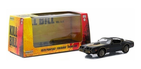 Greenlight 1:43 Kill Bill 1979 Pontiac Firebird Trans Am
