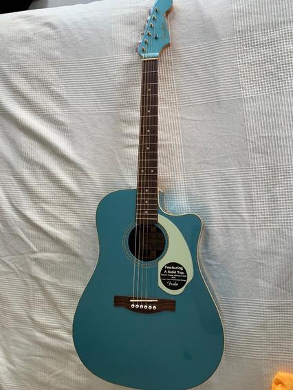 Guitarra Electroacústica Fender Sonoran Sce V2 Placid Blue