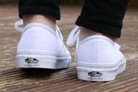 Vans Originales Blancos
