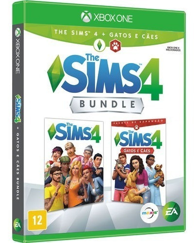 Jogo The Sims 4 Bundle Com Cães E Gato Xbox One Midia Física