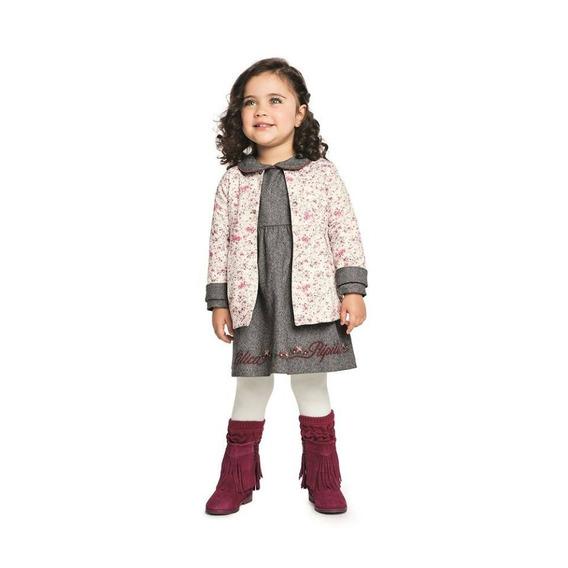 Vestido Bebe Lilica Ripilica Cod 10108680 Envio Imediato