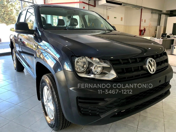 Volkswagen Amarok Trendline 0km 4x2 2020 Manual Nueva 140cv