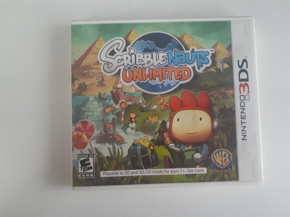 Scribblenauts Unlimited 3ds