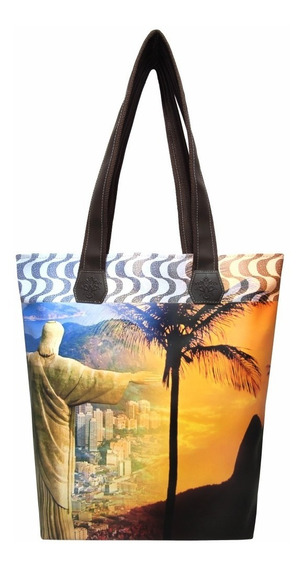 Bolsa Feminina Estampa Do Rio De Janeiro B037 - Magicc