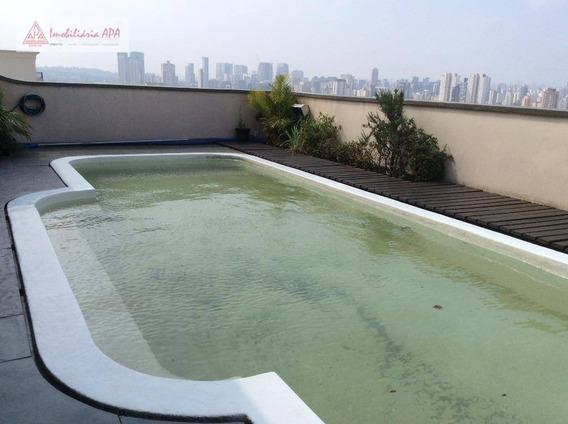 Cobertura Residencial À Venda, Brooklin Novo, São Paulo. - Co0013