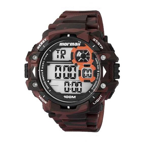 Relógio Mormaii Masculino Digital Mo13609a/8r Camuflado Off