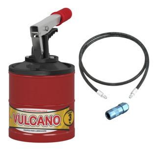 Engrasador Grasera Manual Vulcano Gp161 3kg Manguera Y Pico