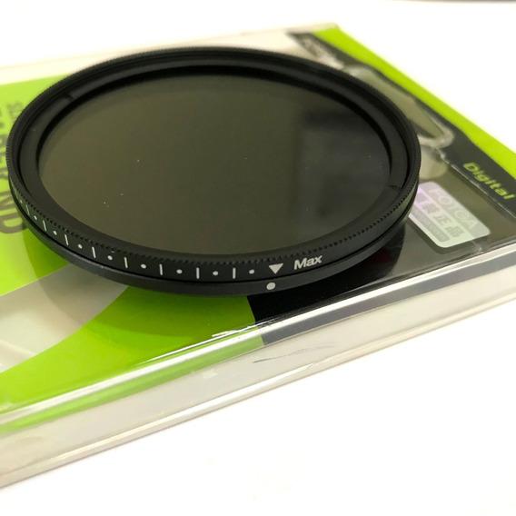 Filtro De Densidade Variavel Nd2 - Nd400 Ø58mm Fotga 58mm
