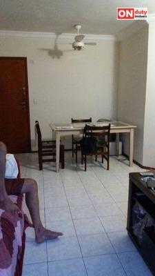 Apartamento Residencial À Venda, Estuário, Santos. - Ap3664