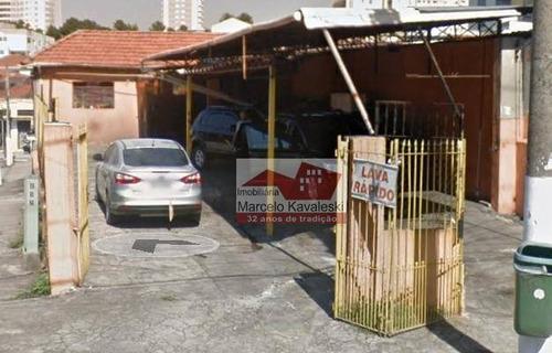 Terreno Para Alugar, 300 M² Por R$ 4.500/mês - Alto Do Ipiranga - São Paulo/sp - Te0101
