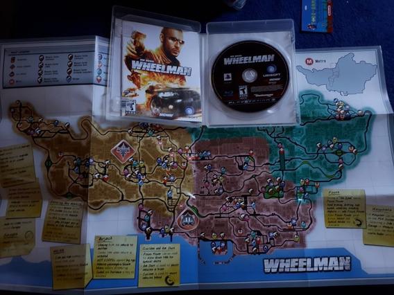 Wheelman Vin Diesel Completo Com Pôster Ps3 Campinas