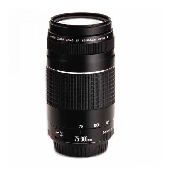 Lente Original Canon Ef 75-300mm F/4-5.6 Iii Autofoco C/ Nf