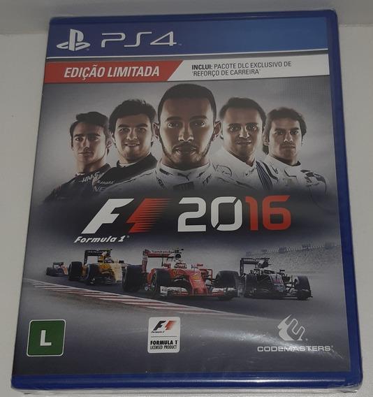 Formula 1 F1 2016 Ps4 Playstation 4 Mídia Física Lacrado