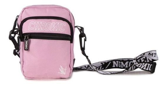 Shoulder Bag Bolsa Lateral Feminina Pequena Chronic Rosa