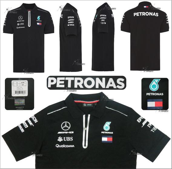 Polo Mercedes Bottas Hamilton F1 Autentica Nueva Linea 2018