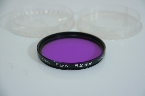 Filtro Kenko Fl-w Flw 52mm Japan No Estojo