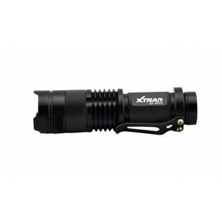 Lanterna Tática Mini De Led Swat Com Sinalizador 3.7v Xtrad