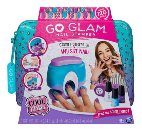 Cool Maker Impresora Y Diseño De Uñas Go Glam 125 Uñas *full