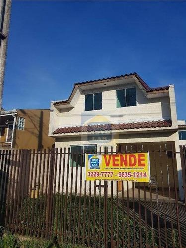 Imagem 1 de 19 de Casa Com 3 Dormitórios À Venda, 90 M² Por R$ 450.000,00 - Umbará - Curitiba/pr - Ca0164