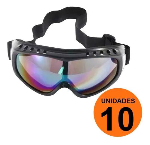 Pack 10 Lentes Antiparras Sky Snowboard Nieve / Lhua Store