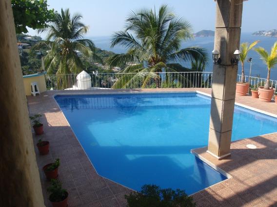 Rento Villa En Acapulco Economica Vista Espectacular