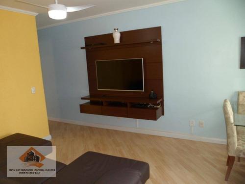Apartamento Com 3 Dormitórios À Venda, 61 M² Por R$ 365.000,00 - Vila Antonieta - São Paulo/sp - Ap0235