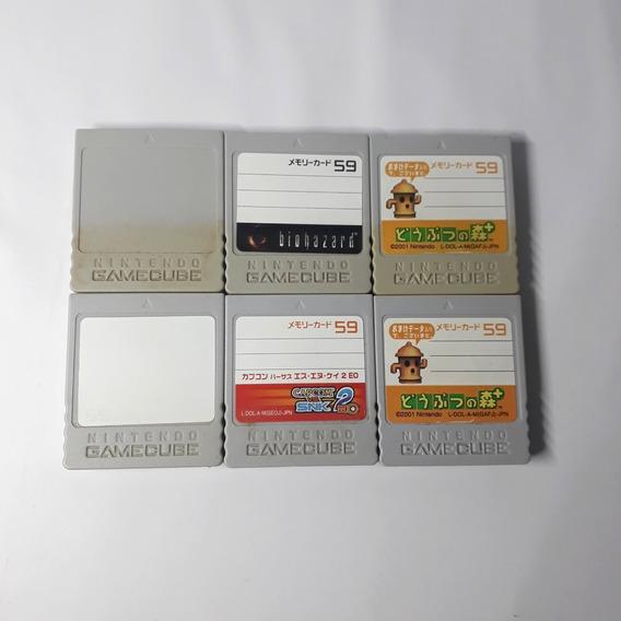 Memory Card Game Cube Original 59 Blocos Nintendo Aproveite!