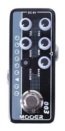Pedal Mooer Pré Amplificador 003 Power Zone - Pd1077