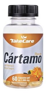 Óleo De Cártamo E Vitamina E 1000 Mg