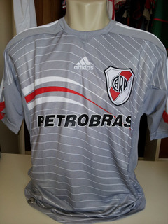 Rara Camisa River Plate Cinza Prata 2009 Na Etiqueta