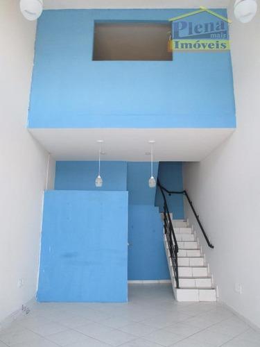 Salão Para Alugar, 70 M²  - Centro - Sumaré/sp - Sl0598