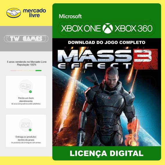 Mass Effect 3 Digital Retrocompativel Xbox One Xbox 360